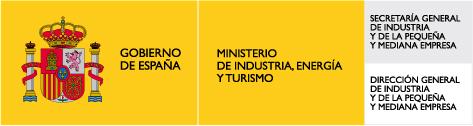 Logo de Ministerio de industria